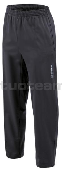 7246 - pantalone SOLID - NERO