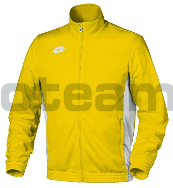 T1951 - GIACCA DELTA FZ giallo/bianco