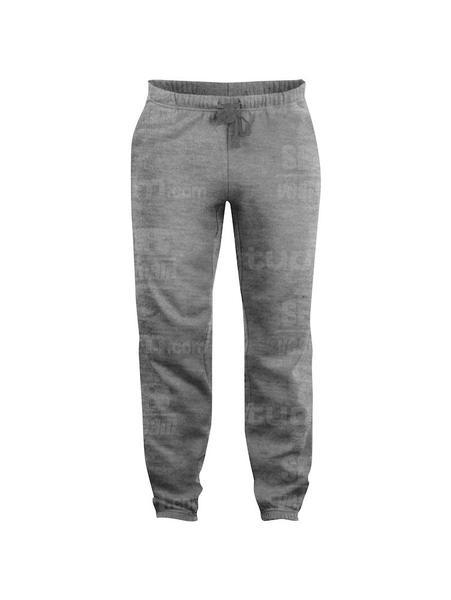 021037 - PANTALONI Basic - 95 grigio melange
