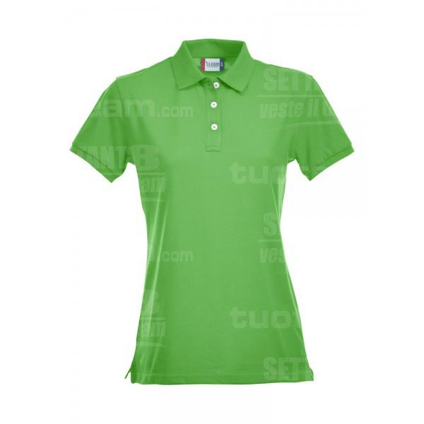 028241 - POLO Premium ladies - 605 verde acido