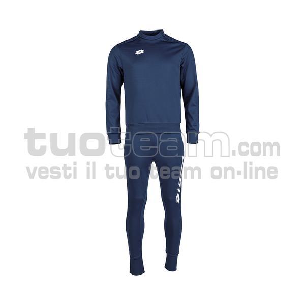 L53044 - ZENITH EVO JR SUIT HZ RIB PL - navy blue