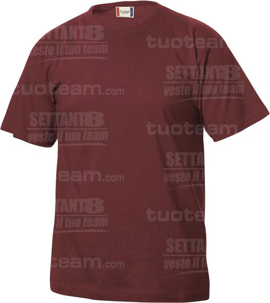 029032 - T-SHIRT Basic T Junior - 38 bordeaux