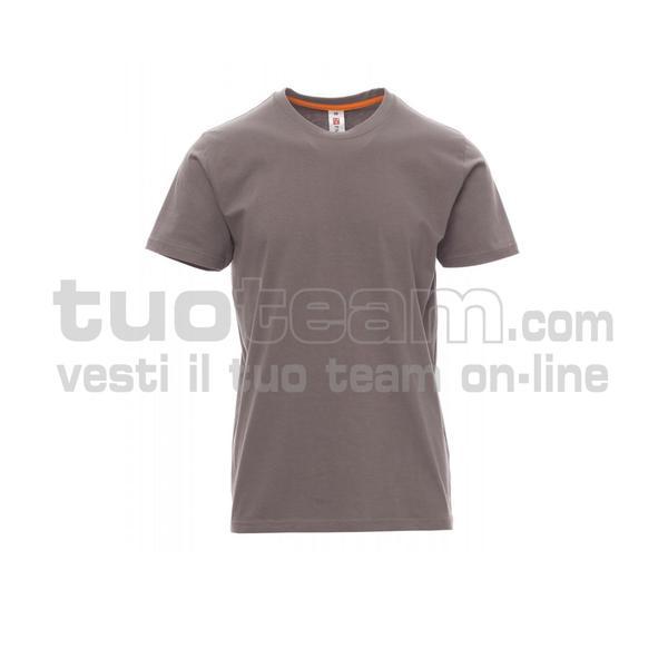 SUNRISE - SUNRISE t shirt - GRIGIO MELANGE
