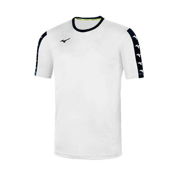 32FA9B51 - NARA TRAINING TEE JR - White/Black