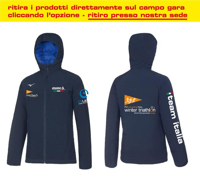 BD1800060 - Giacca Antivento Navy Donna World Championship Winter Triathlon(IT)