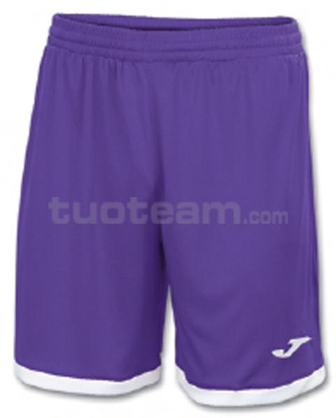 100006 - TOLEDO SHORT 100% polyester interlock - 550 VIOLA/BIANCO