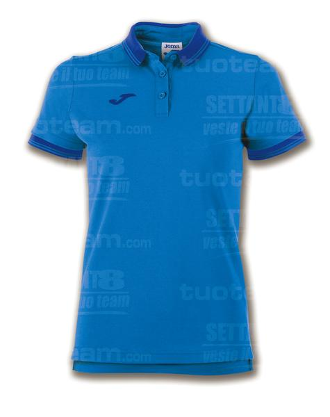 900444 - POLO BALI II WOMAN 65% polyester 35% cotton - 700 BLU ROYAL