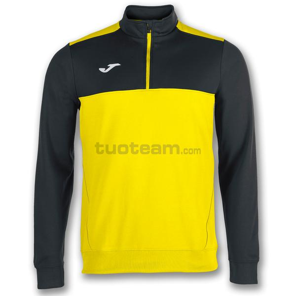100947 - WINNER FELPA WINNER 1/2 ZIP POLYFLEECE - 901 GIALLO / NERO