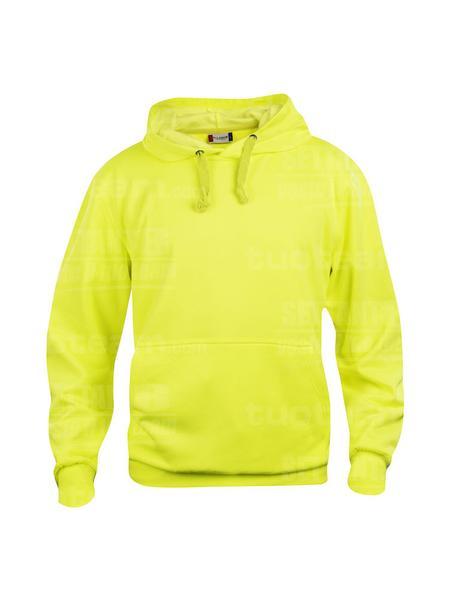 021031 - FELPA Basic Hoody - 11 giallo HV