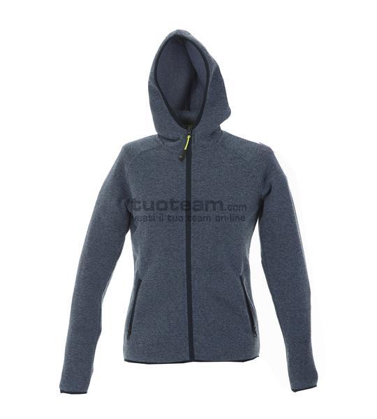 99192 - Knitted Fleece Quebec Lady - LIGHTBLUE