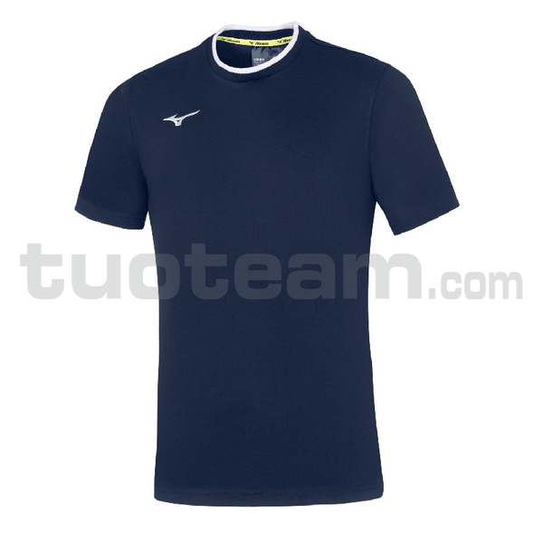 32EA7040 - mizuno t-shirt - Navy/White