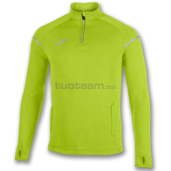100978 - RACE FELPA 1/2 ZIP 100% polyester fleece - 400 LIME