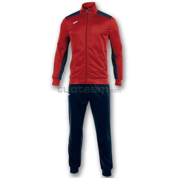 101096 - ACADEMY TUTA 100% polyester tricot - 603 ROSSO / DARK NAVY