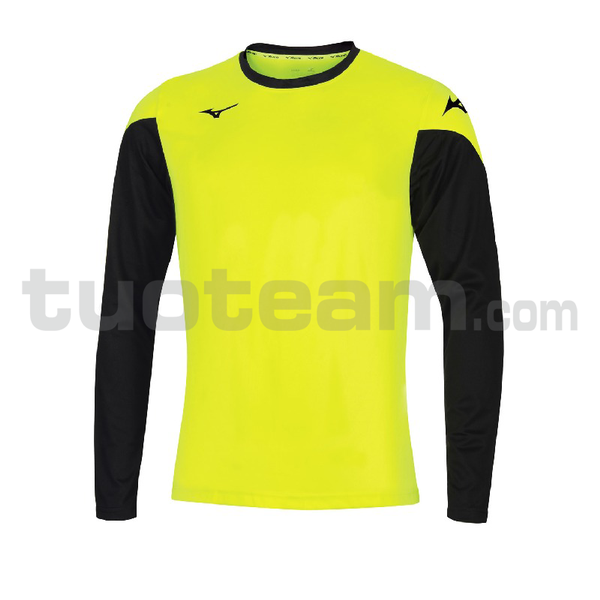 P2EA7A20 - Trad L / sleeve gkeeper shirt - Yellow Fluo/Royal