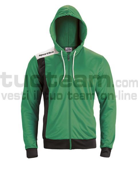 7624 - GIRONA giacca - VERDE / NERO / BIANCO