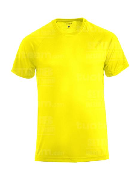 029338 - T-SHIRT Active-T - 11 giallo HV