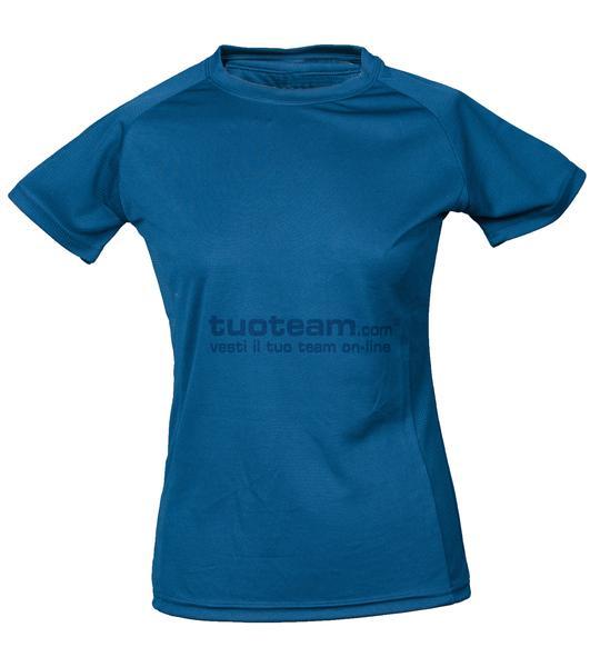 99381 - T-Shirt Montevideo Lady - LIGHTBLUE