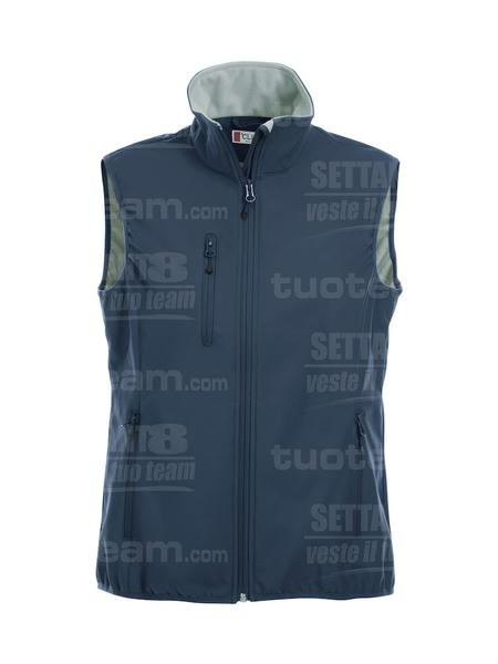 020916 - GILET Basic Softshell Vest Ladies - 580 blu