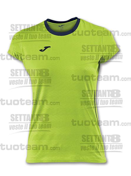 900378 - MAGLIA MODENA VOLLEY DONNA - 403 LIME/BLU NAVY