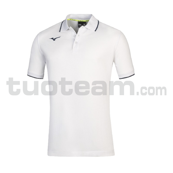32EA7041 - TEAM MIZUNO POLO - White/Royal