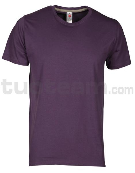 SUNSET - T-SHIRT SUNSET - VIOLA INDIGO
