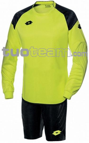 L53041 - COMPLETO CROSS PORTIERE JR - giallo fluo