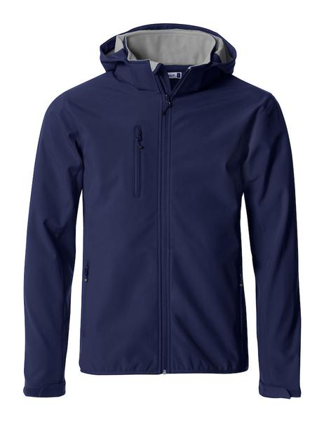 020912 - Basic Hoody Softshell - 580 blu