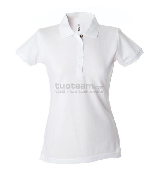 99105 - Polo Colombia Lady - BIANCO