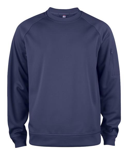 021010 - Basic Active Roundneck - 580 blu navy