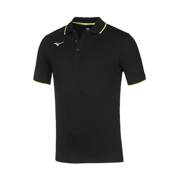 32EA8901 - MIZUNO POLO JR - Black/Black