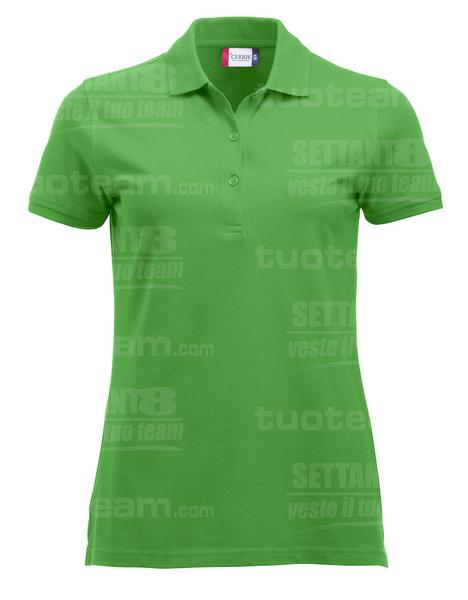 028246 - POLO New Classic Marion S/S - 605 verde acido