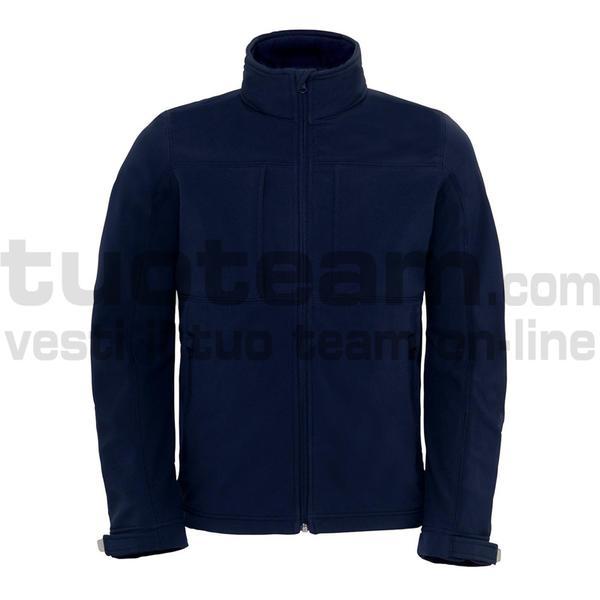 CJM950 - Hooded Softshell Jacket - Navy