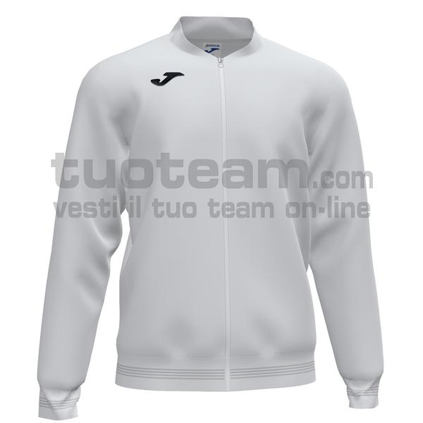 101591 - CAMPUS III FELPA FULL ZIP 100% polyester fleece - 200 BIANCO