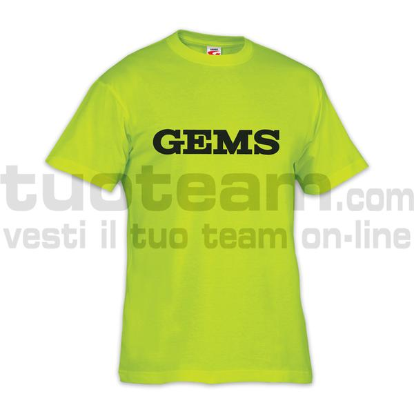 JA04 - T-shirt Promo - YELLOW FLUO