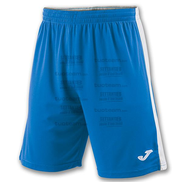 100684 - TOKIO II SHORT 100% polyester interlock - BLU ROYAL/BIANCO