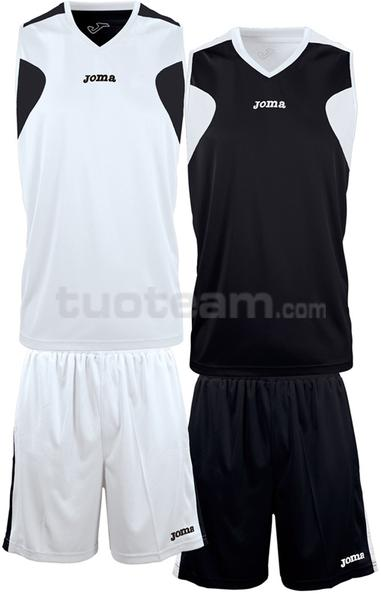 1184 - REVERSIBLE SET DOUBLE MAGLIA + SHORT 100% polyester interlock