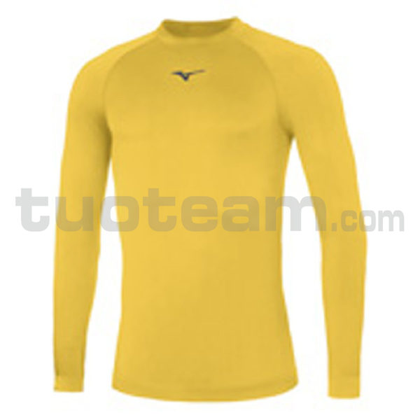 32EA7045 - Core Long sleeve underwear - Yellow/Navy