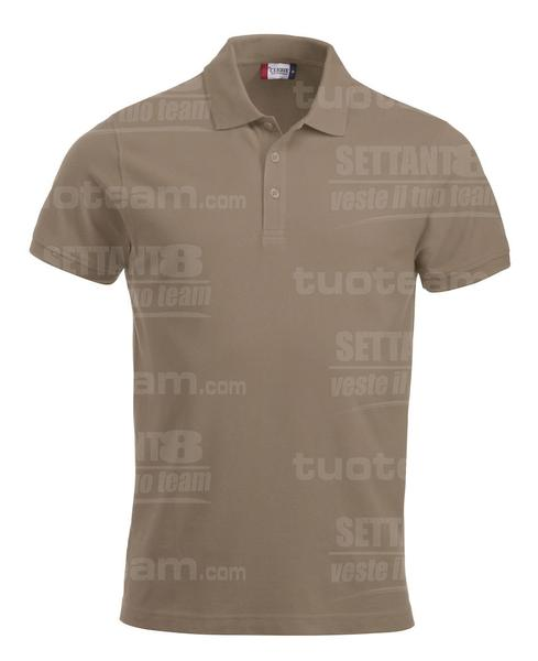 028244 - POLO New Classic Lincoln S/S - 820 caffe latte