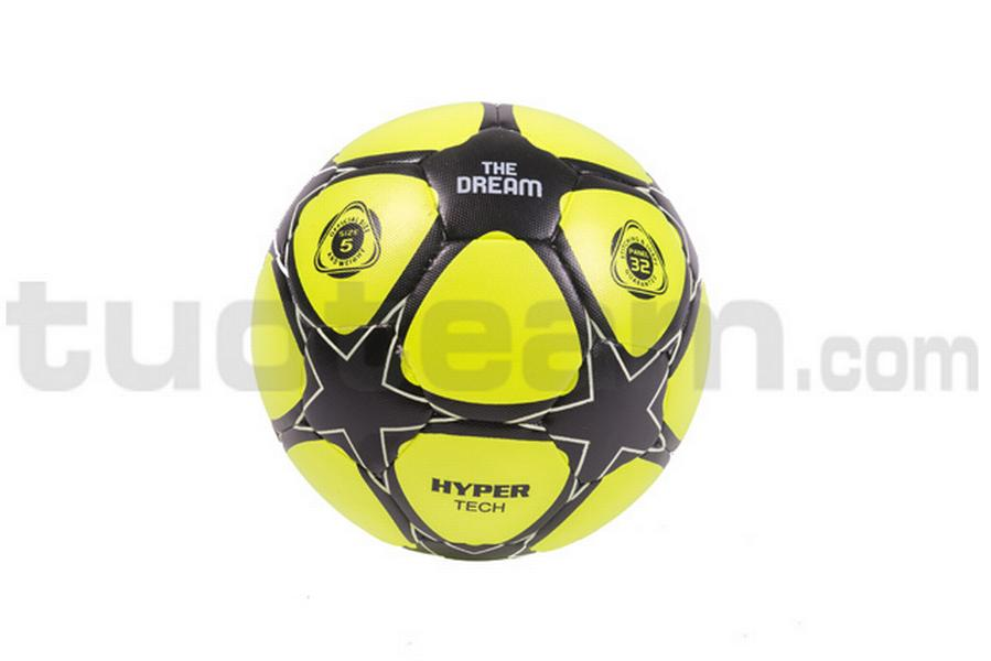 780231 - pallone THE DREAM MATCH '17 hi-tech - giallo fluo / nero
