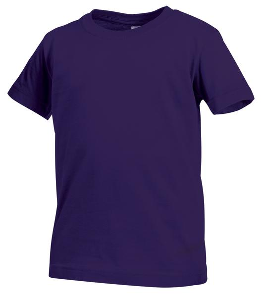 ST2200 - Classic Maglia Bambino G/C M/C 100% Cot 155 gr/m2 - Deep Berry