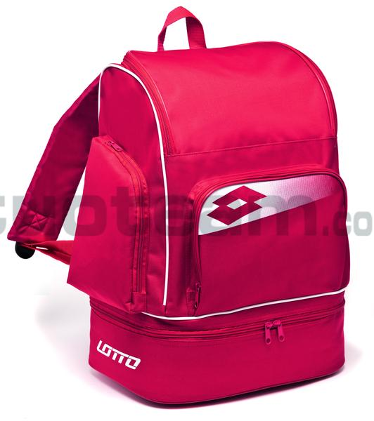 S3880 - ZAINO SOCCER OMEGA II rosso/bianco
