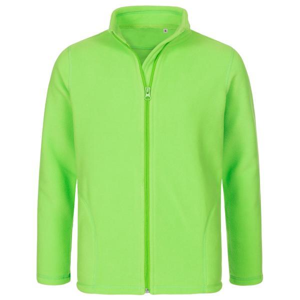 ST5170 - Active Bambino Pile Jacket 100% Poly 220 gr/m2 - Kiwi