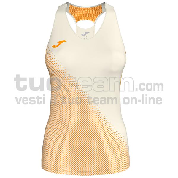 900876 - CANOTTA 80% polyester interlock 20% elastan - 224 BIANCO PANNA