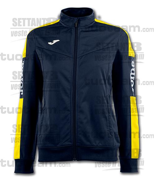 900380 - CHAMPIONSHIP IV WOMAN GIACCA TRICOT - 309 BLU NAVY/GIALLO