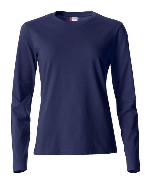 029034 - Basic-T Long Sleeve Lady - 580 blu navy