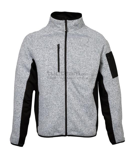 99441 - Knitted Fleece Monviso Man - LIGHT GREY