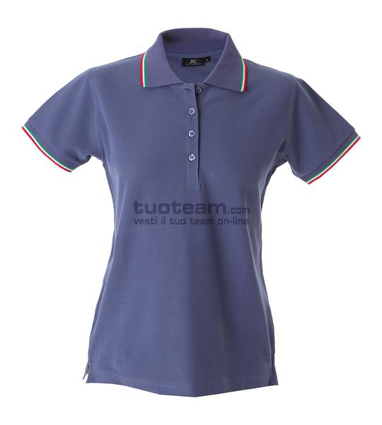 98969 - Polo Aosta Lady - LIGHT VIOLET