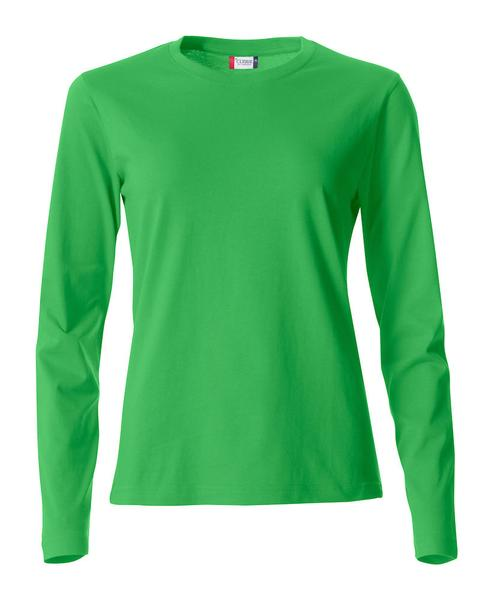 029034 - Basic-T Long Sleeve Lady - 605 verde acido