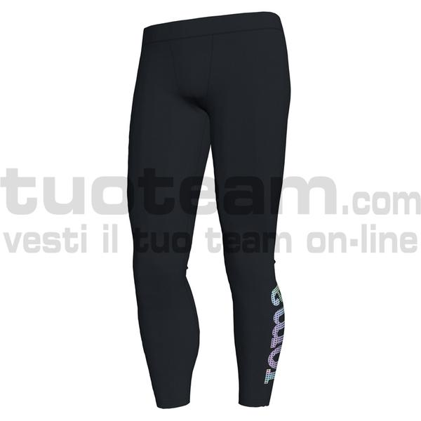 101423 - SALINAS TIGHT 77% polyester 23% spandex - 100 NERO