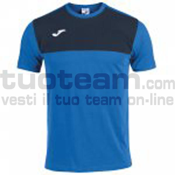 101683 - CAMISETA WINNER ROYAL-MARINO M/C - 703 ROYAL / DARK NAVY
